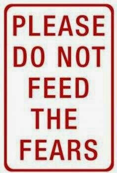 please don't feed the fears