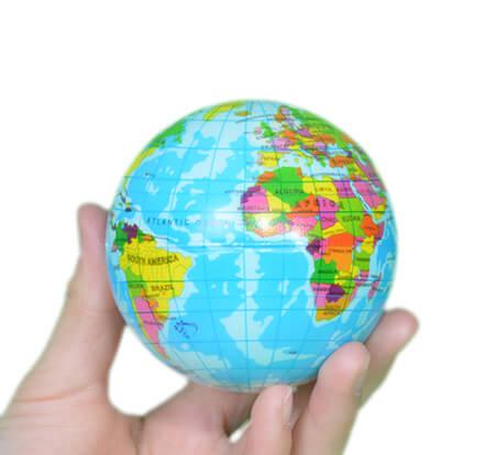 globus stress ball