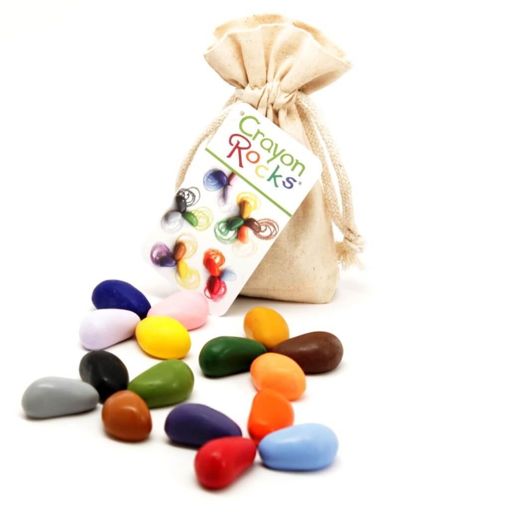 16 crayon rocks 16 Crayon Rocks – צבעים ללימוד אחיזה נכונה באריזה גדולה