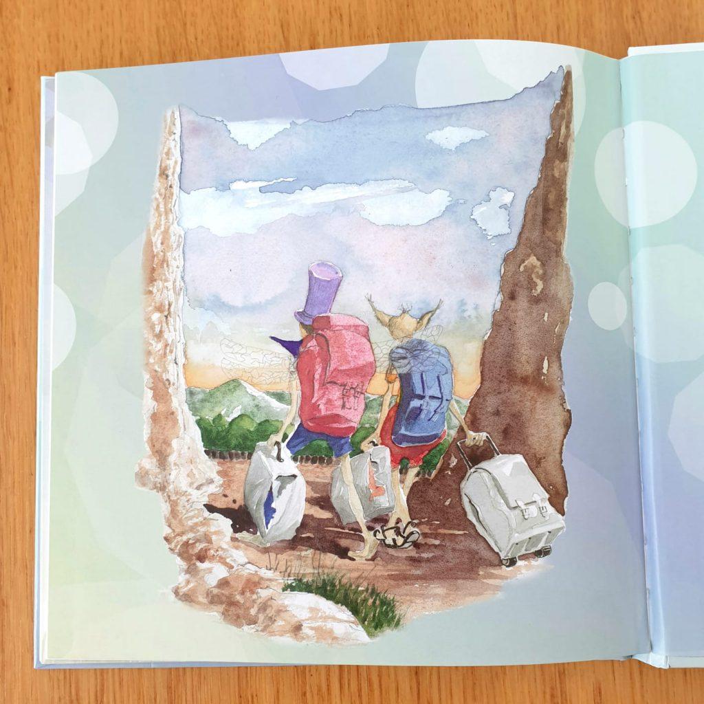המסע לשדונזיה –  ספר ילדים מופלא על גילוי כוחות הקסם בממלכת יצורי הנפש