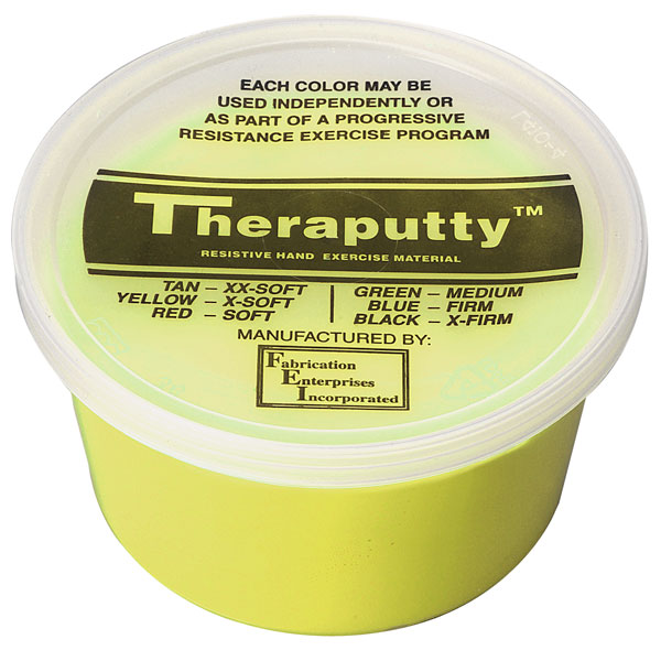 theraputty yellow