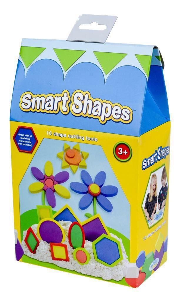 Smart Shapes ערכת חותכנים לבצק קינטי