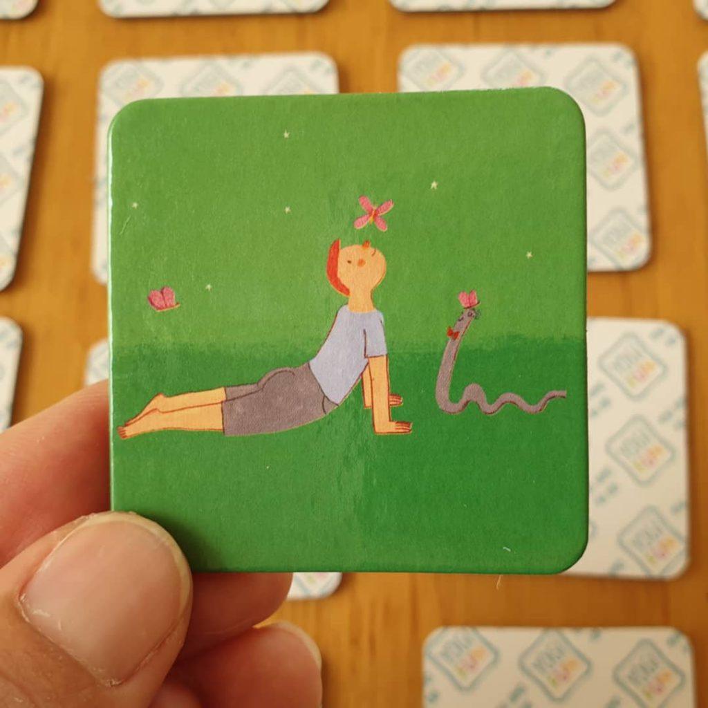 משחק זיכרון יוגה
