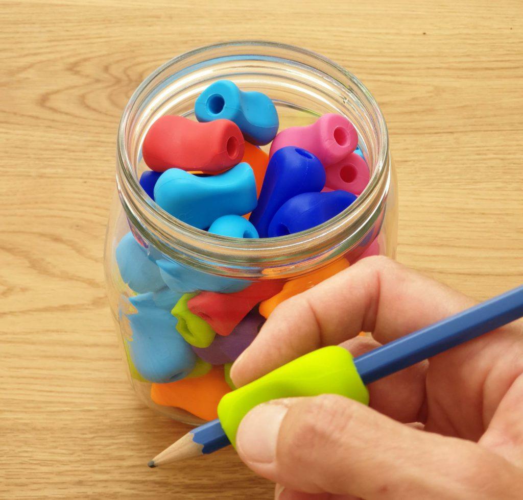 אוחז סיליקון גדול לעיפרון