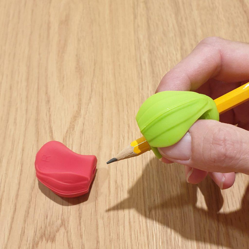 אוחז עיפרון קונכיה קשיח