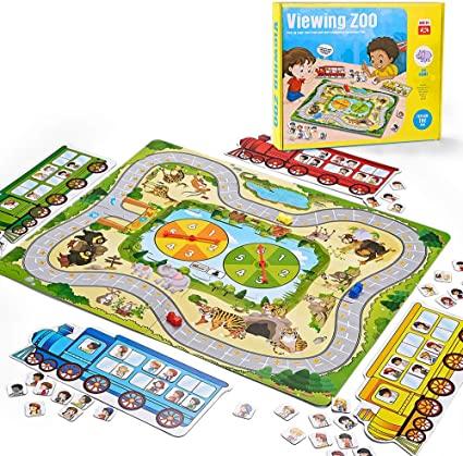 2ביקור בגן החיות – משחק אסטרטגיה ללימוד חיבור וחיסור