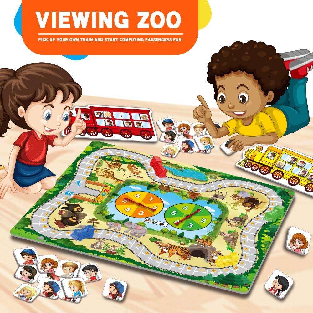 ביקור בגן החיות – משחק אסטרטגיה ללימוד חיבור וחיסור