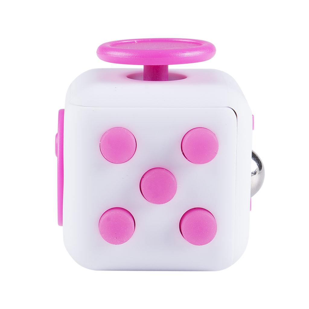 fidget cube pink