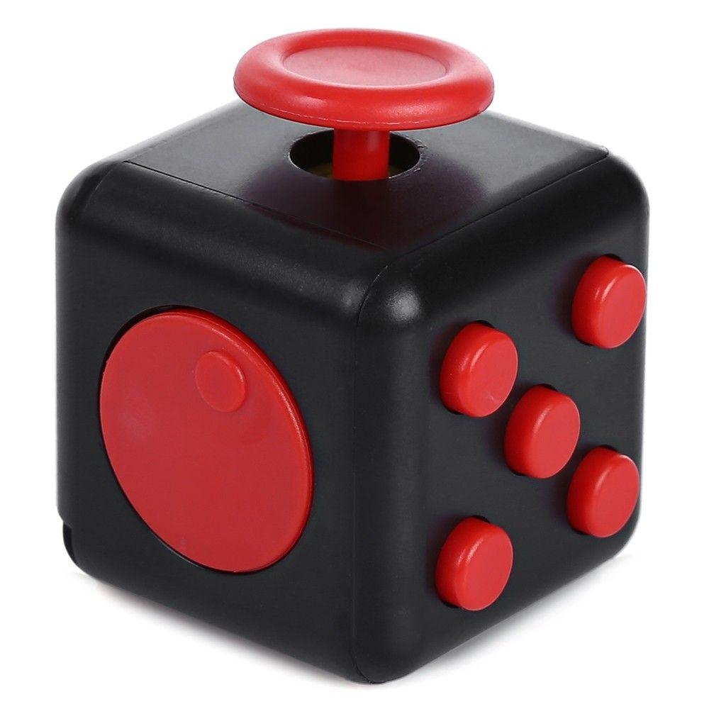 fidget cube red