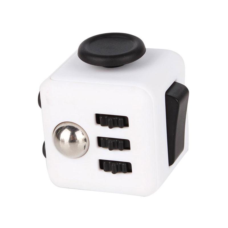 fidget cube white black
